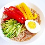 パプリカ冷麺