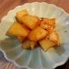 ジャガイモの韓国風照り煮