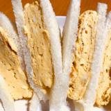 簡単☆厚焼きたまご(玉子・卵)サンド