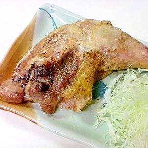 カリッとジューシー骨付鶏ももオーブン焼き