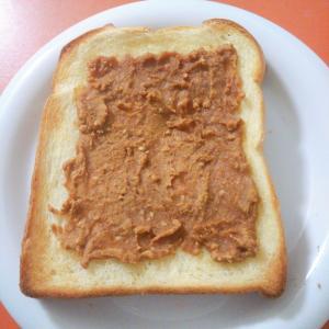和風☆みそ風味☆きな粉トースト