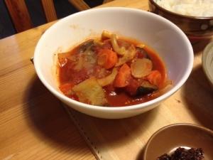 野菜たっぷり!圧力鍋で簡単ラタトゥイユもどき