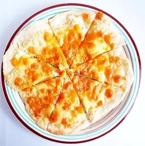 4種のチーズピザ ピッツア・クアトロフォルマッジ