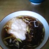 北海道食材!簡単♪がごめ昆布入りとろろ蕎麦