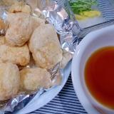 島豆腐の揚げ出し豆腐(ノンフライヤー)