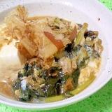 安いけど栄養満点!大根の葉の肉豆腐