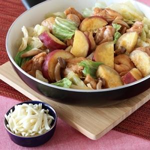 【韓国料理を簡単に!】フライパンでタッカルビ