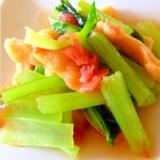 レンジで簡単!小松菜の梅風味お浸し