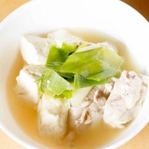 簡単すぎてごめんなさい!お豆腐と豚肉のさっぱり煮
