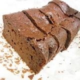 簡単濃厚チョコレートケーキ ボールひとつでOK