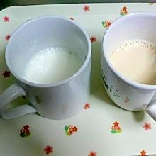 即席チャイ風ミルクティーorホットミルク