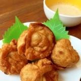 まん丸揚げ餃子♪マヨ餃子タレで