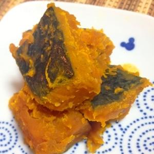ほくほく♪かぼちゃの力士味噌煮