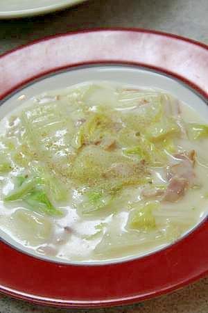 寒い冬にぴったりの『白菜のクリーム煮』