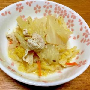 お弁当に簡単♪白菜の蒸し煮
