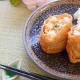 鮭と大葉の生姜いなり寿司