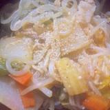 ヘルシー♪野菜のキムチ鍋
