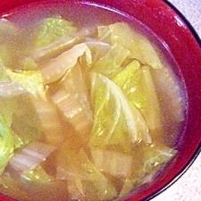 おでんつゆで♪白菜スープ