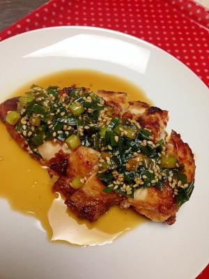 塩麹de☆鶏胸肉の柔らかサクサク油淋鶏by天ぷら粉