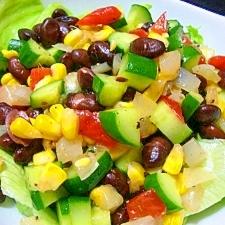黒豆サラダ