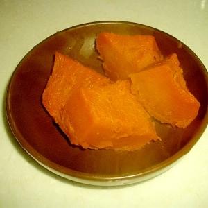 かぼちゃのバター醤油煮