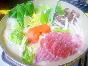 ☆★ 味噌風味の豆乳鍋 ★☆
