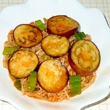 もやしと夏野菜のピリ辛炒め
