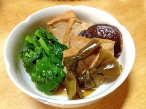 今が旬:宮内菜の煮物