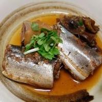 骨まで丸ごと食べよう!秋刀魚の梅煮