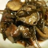 茄子の簡単な佃煮での煮物