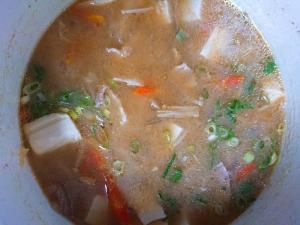 冷凍の常備菜で時短豚汁