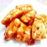 塩麹でやわらか★鶏胸肉のケチャップ炒め