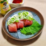 アジアン風まぐろの握り寿司