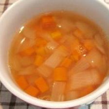 セロリと野菜のスープ