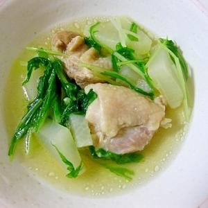 鶏もも肉と大根のスープ煮