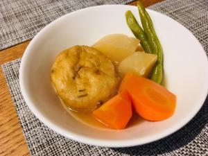 がんもと野菜の煮物