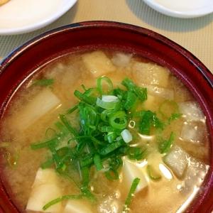 お昼ご飯の☆お味噌汁