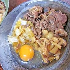 牛肉をそのまま味わいたい☆自家製わりしたで時雨煮