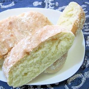 薄力粉使用 捏ねない低温長時間発酵パン