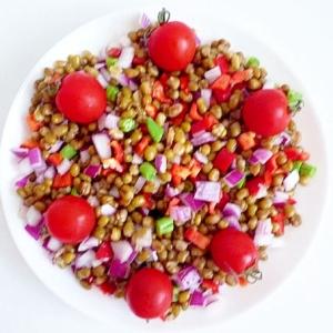 緑豆の豆サラダ