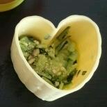 離乳食きゅうりサラダ
