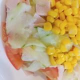 ♡冷やしておいしい♡夏 にぴったり 野菜サラダ♪