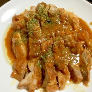 チキンの味噌焼き