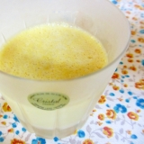 冷凍マンゴーで練乳入りマンゴープリン
