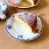 炊飯器で簡単♡レモン香るさつまいもケーキ♪