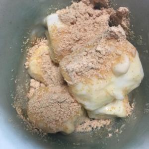 マシュマロの豆腐漬け