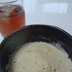 ノンオイル☆レンジできめ細かなしっとり蒸しパン