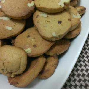 強力粉でつくるサクサク黒糖クッキー