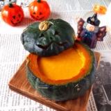 Halloween☆かぼちゃプリン♪