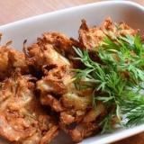 Onion Pakoda★玉ねぎのインド風かき揚げ